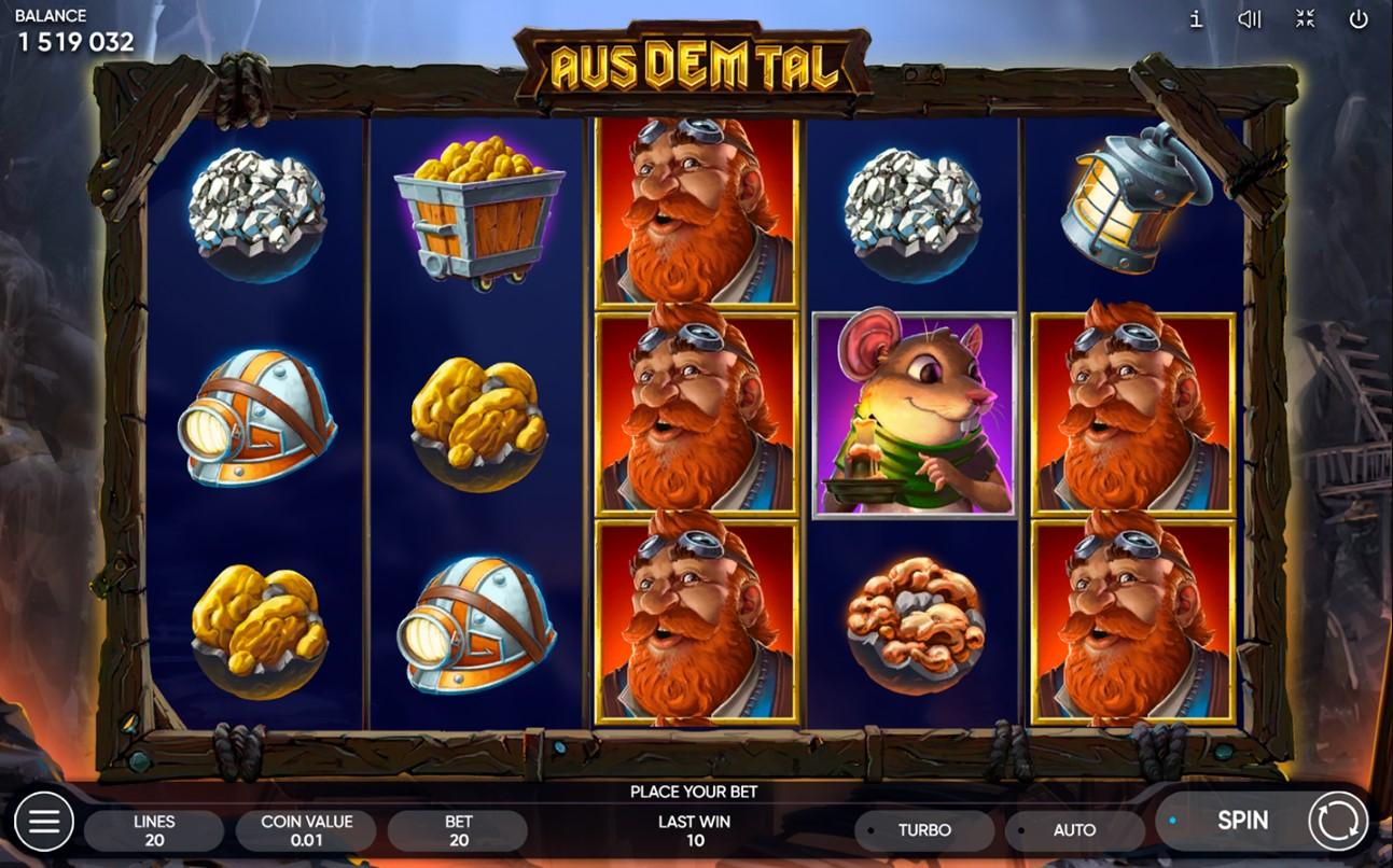 Aus Dem Tal бесплатный игровой автомат