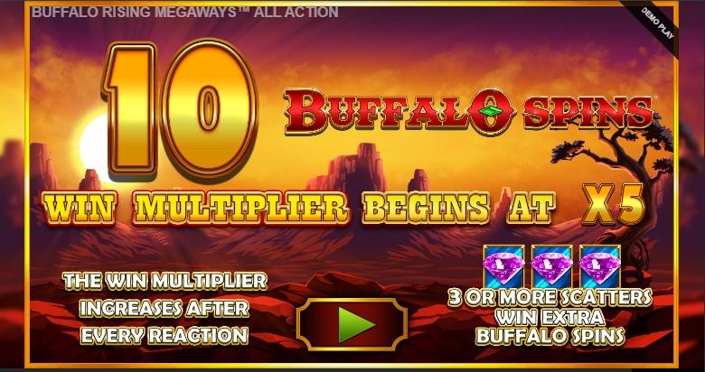 Игровой автомат Buffalo Rising