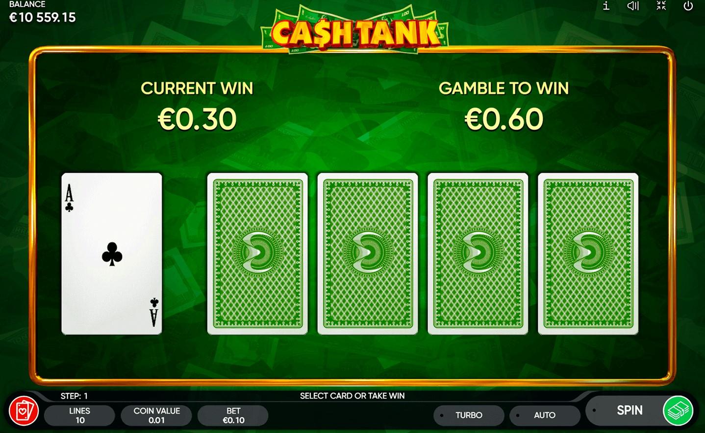 Онлайн слот Cash Tank