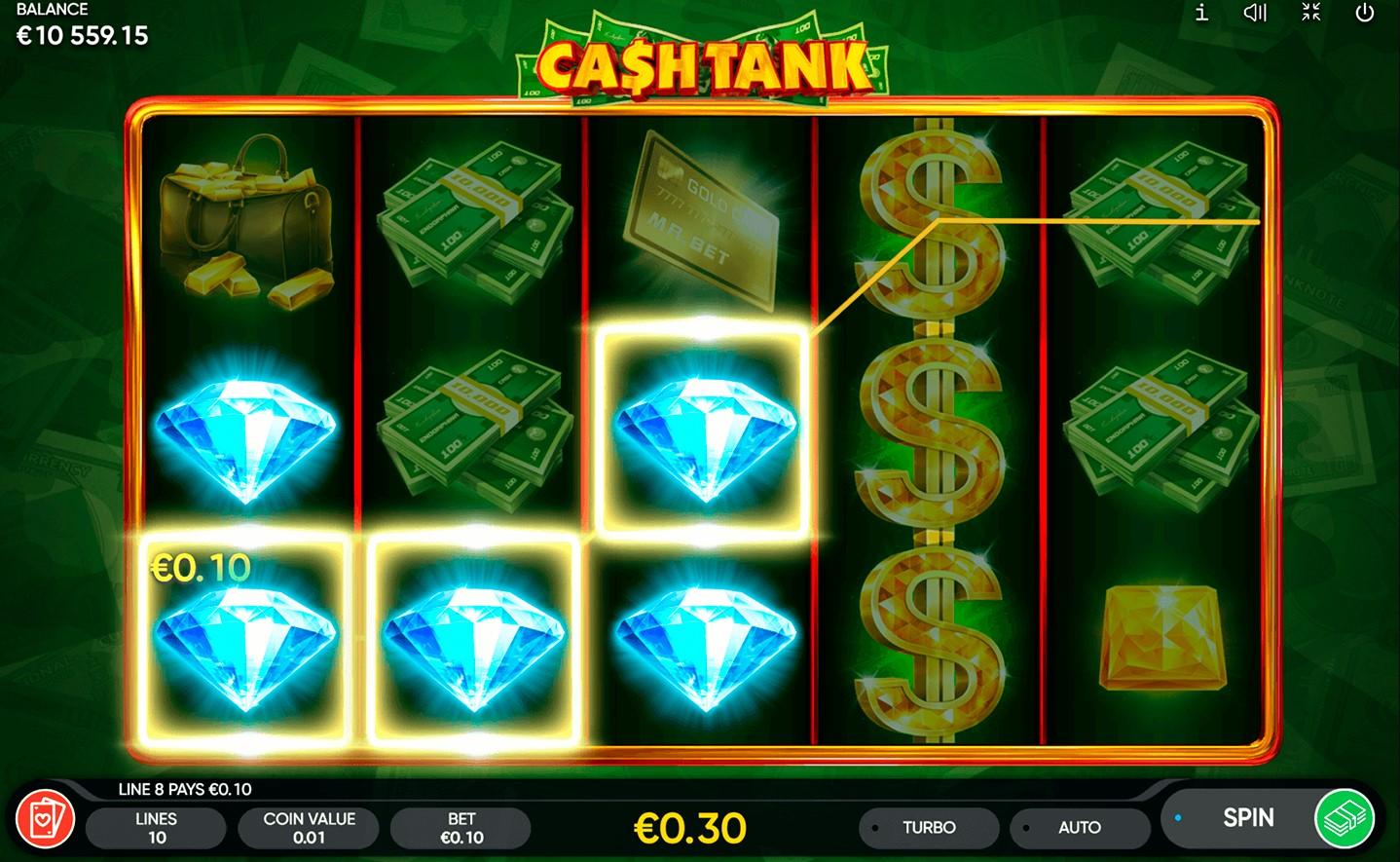 Слот Cash Tank играть