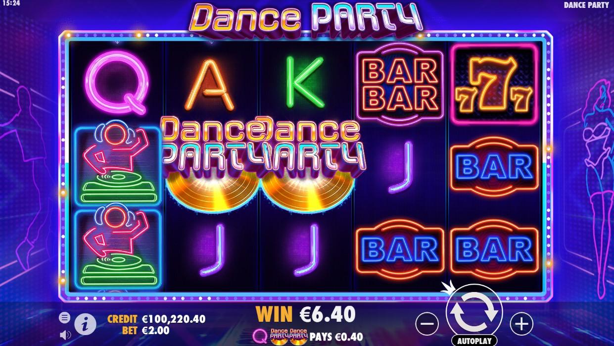Игровой автомат Dance Party
