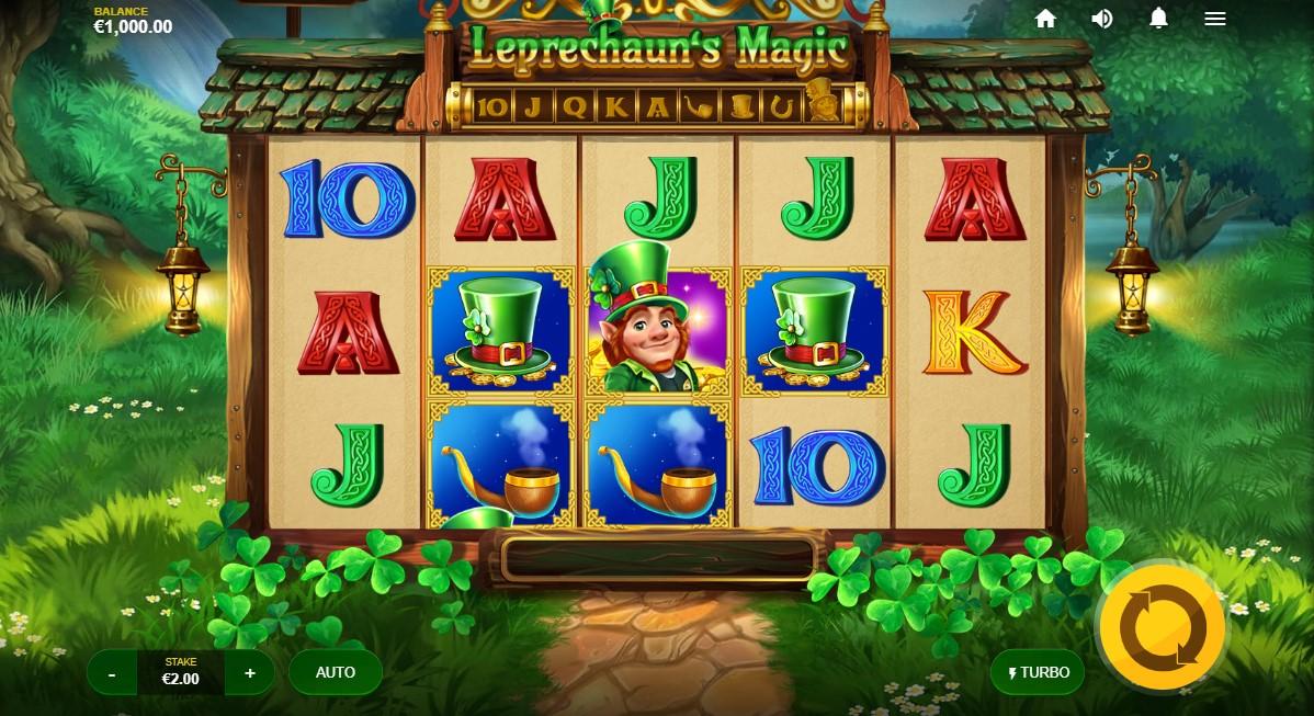 Слот Leprechaun's Magic играть