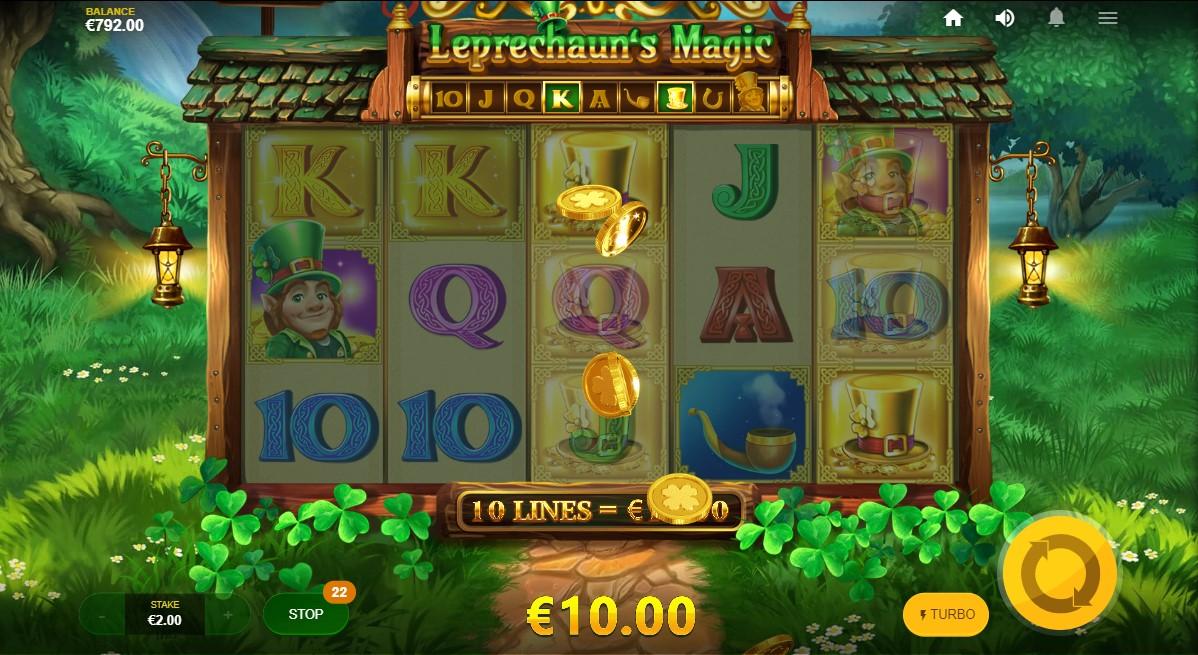 Игровой автомат Leprechaun's Magic