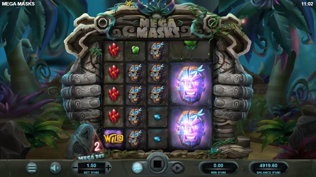 Слот Mega Masks играть бесплатно