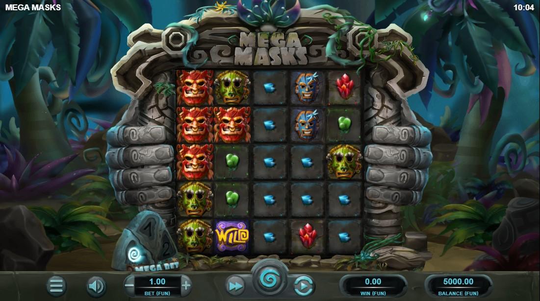 Mega Masks игровой автомат
