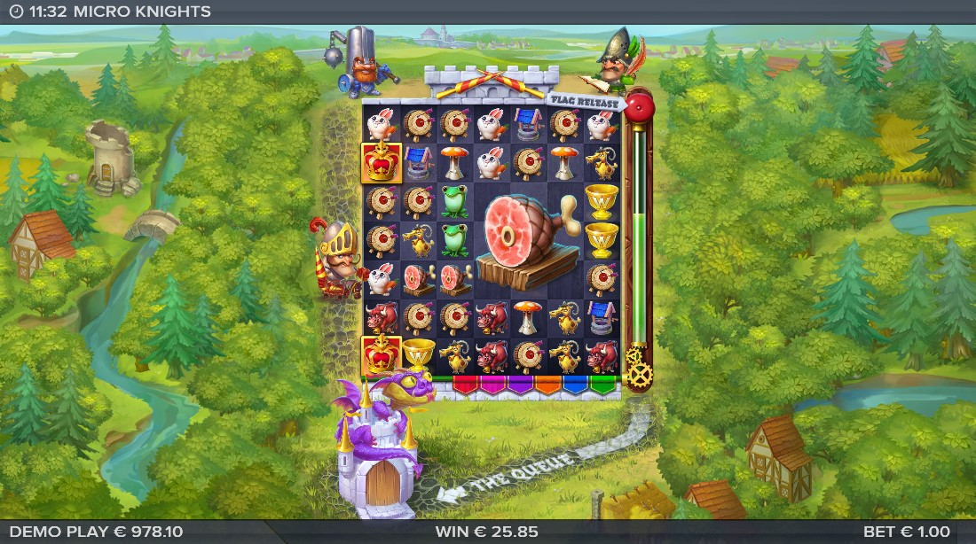 Игровой автомат Micro Knights