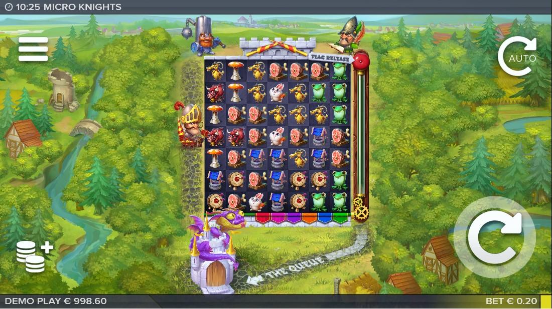 Бесплатный слот Micro Knights