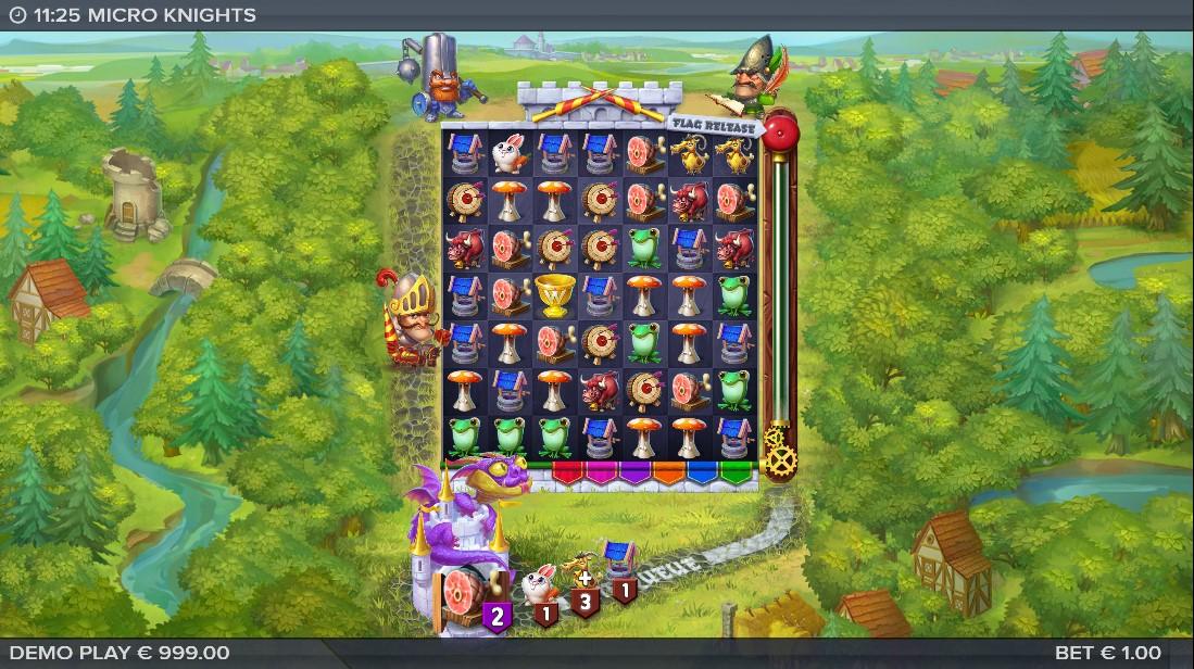 Слот Micro Knights играть онлайн