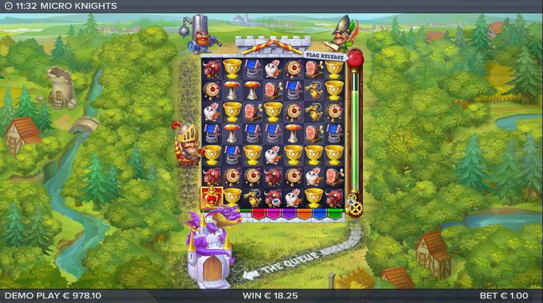 Онлайн слот Micro Knights