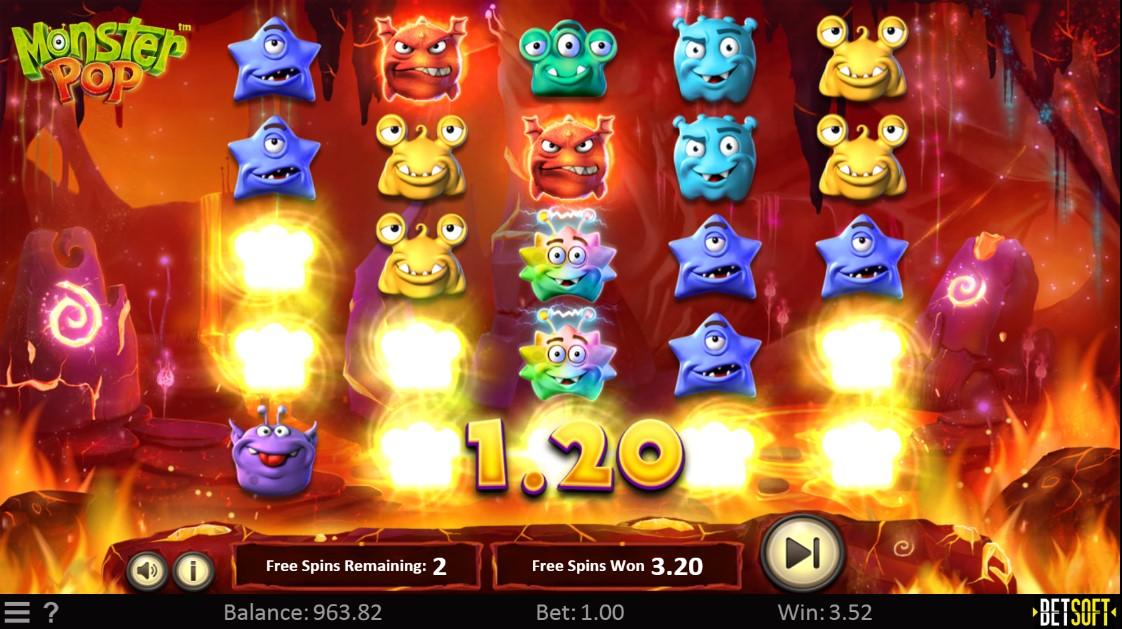 Игровой автомат Monster Pop