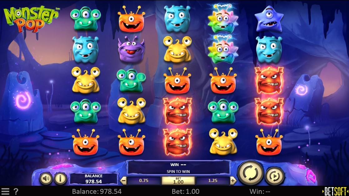 Бесплатный слот Monster Pop