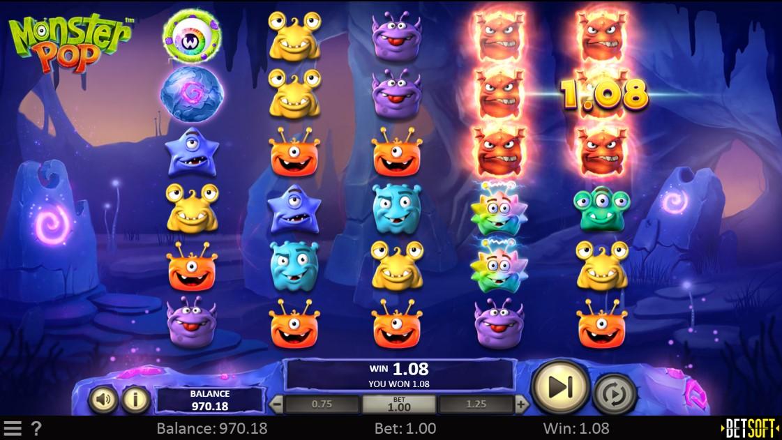 Monster Pop игровой автомат