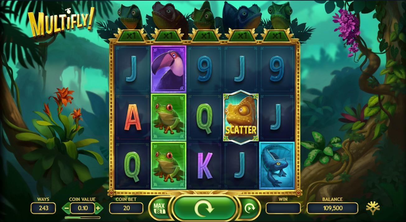 Игровой автомат Multifly