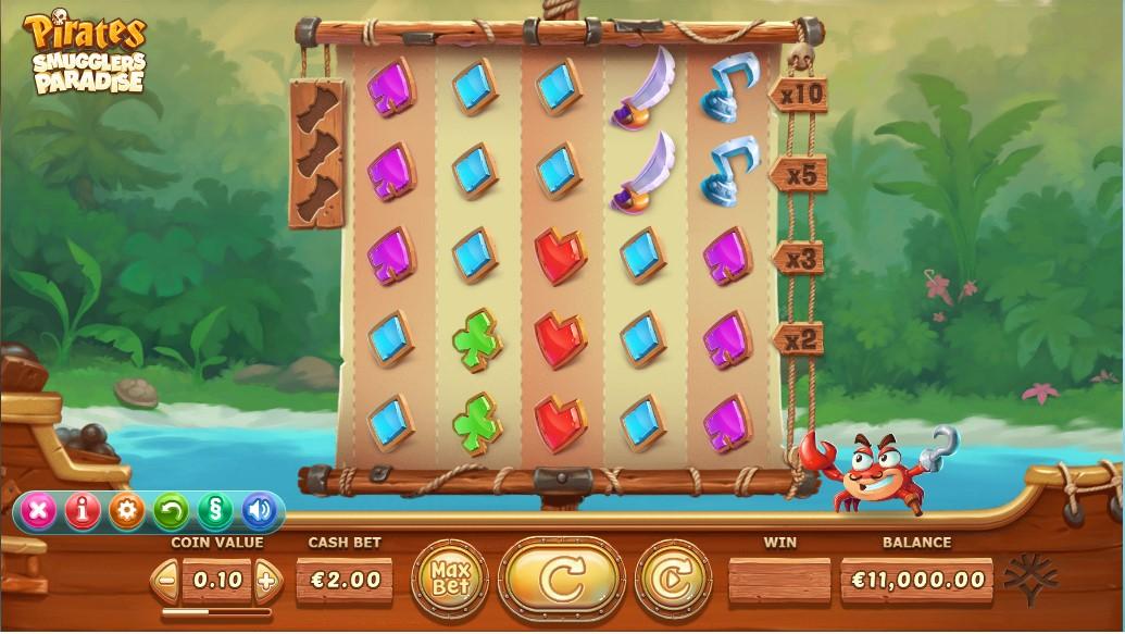 Слот Pirates Smugglers Paradies играть онлайн