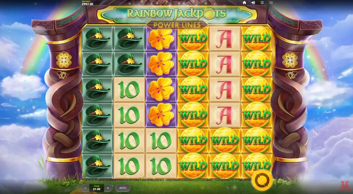 Слот Rainbow Jackpots играть бесплатно
