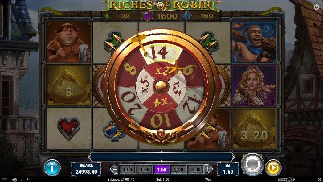 Онлайн слот Riches of Robin