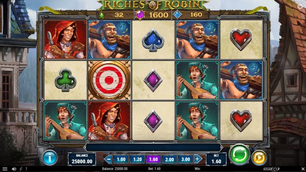 Слот Riches of Robin играть бесплатно