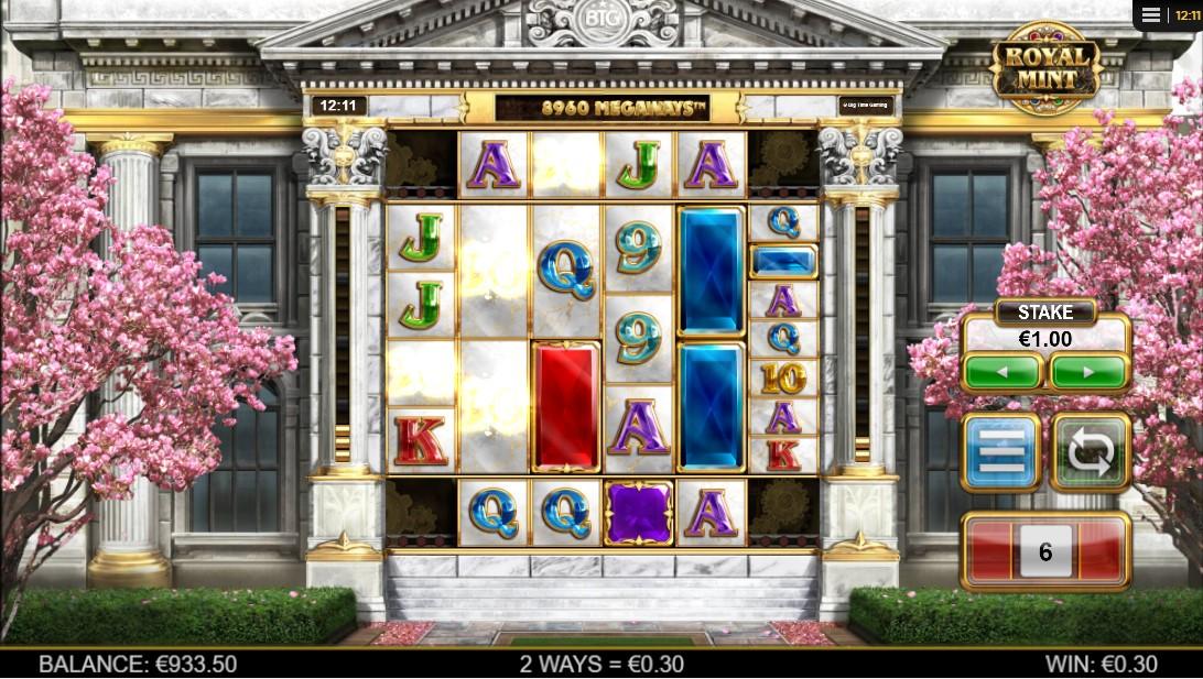 Игровой автомат Royal Mint Megaways