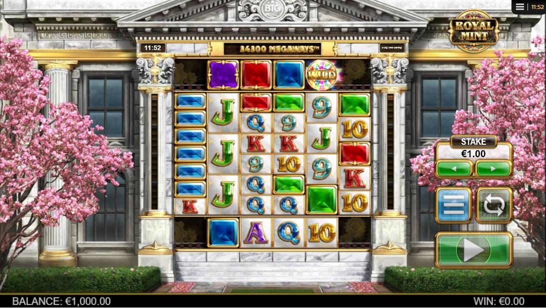Онлайн слот Royal Mint Megaways