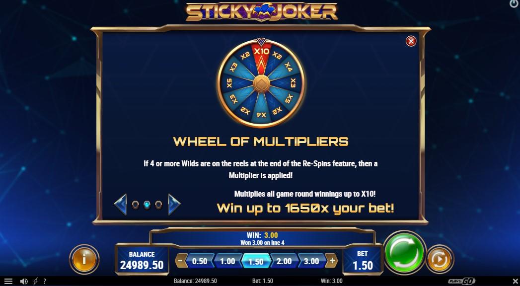 Онлайн слот Sticky Joker