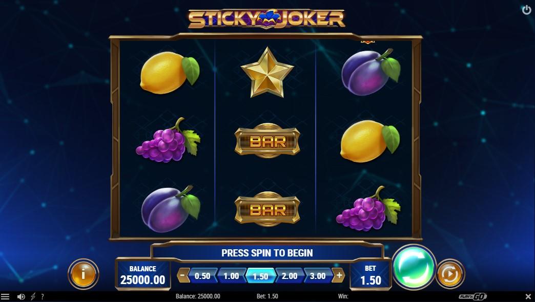 Слот Sticky Joker играть