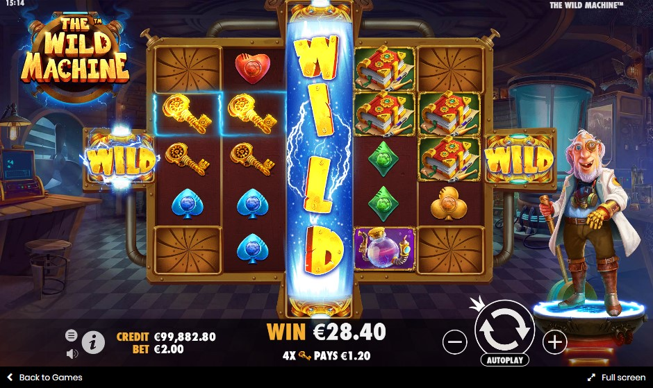Игровой автомат The Wild Machine