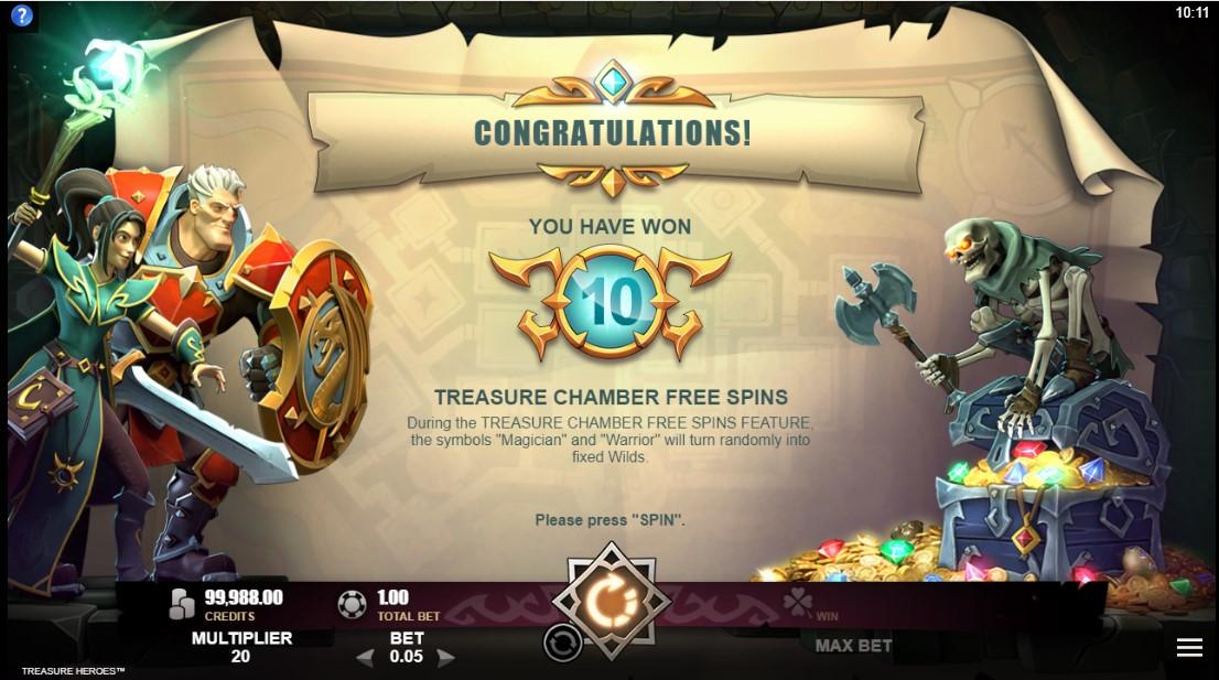 Игровой автомат Treasure Heroes