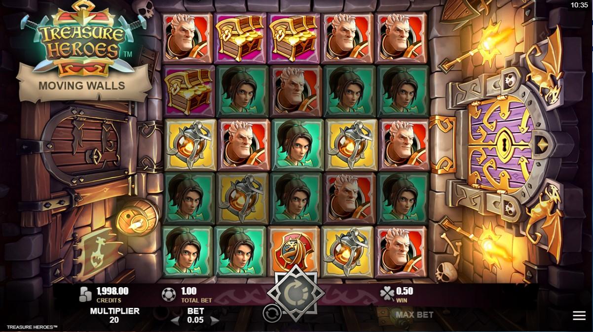 Слот Treasure Heroes играть