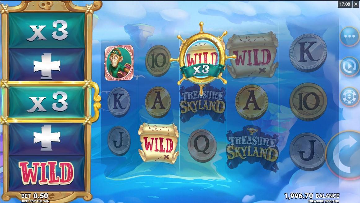 Онлайн слот Treasure Skyland