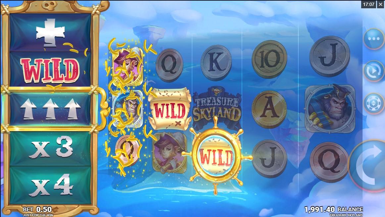 Слот Treasure Skyland играть онлайн
