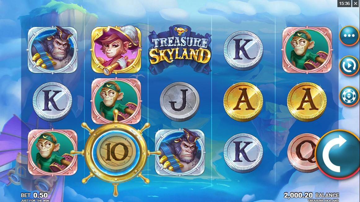 Treasure Skyland игровой автомат