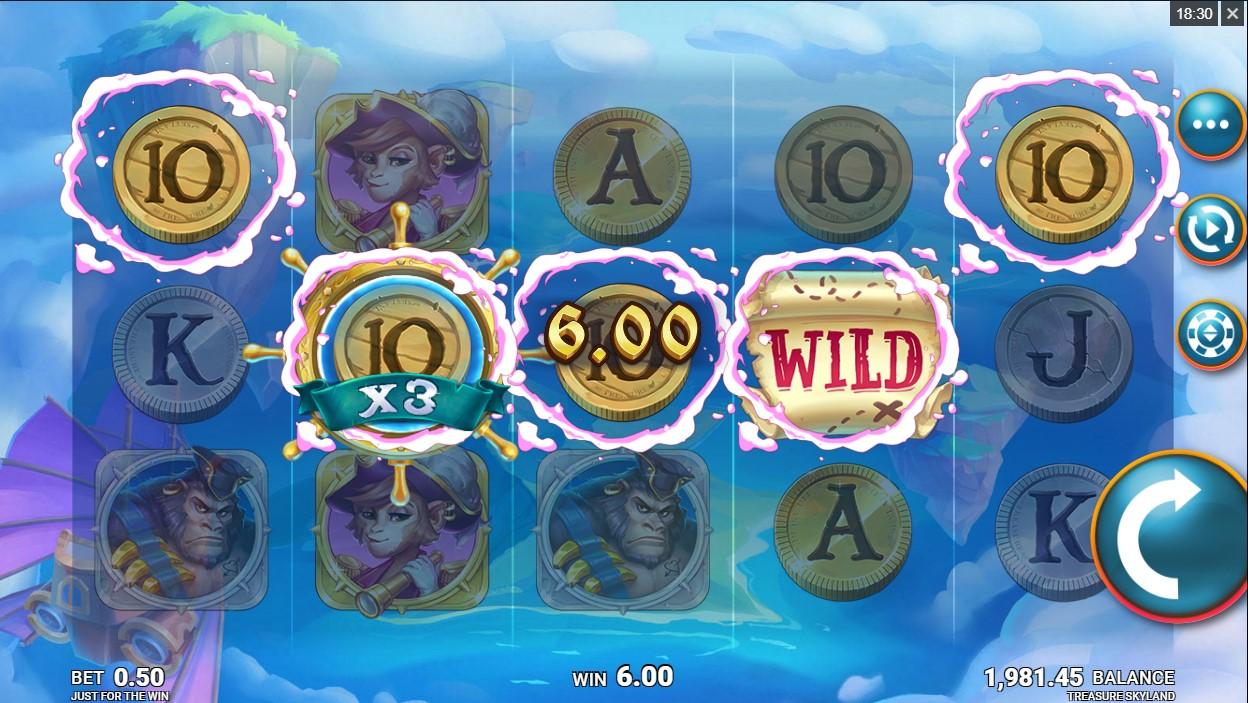 Бесплатный слот Treasure Skyland играть