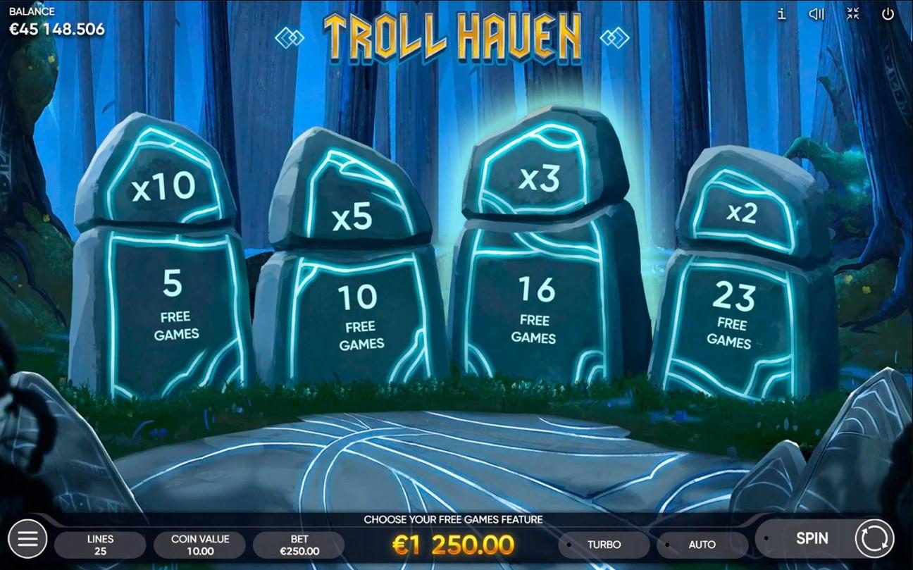 Онлайн слот Troll Haven