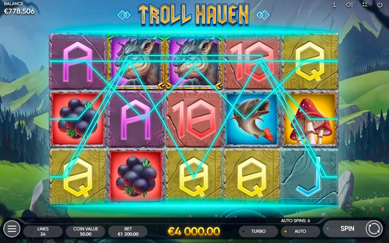 Слот Troll Haven играть