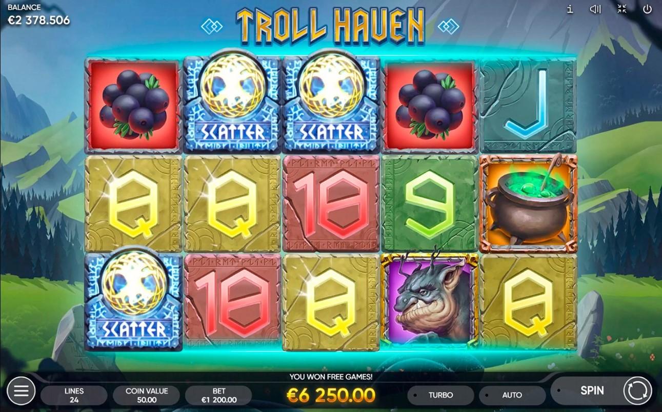 Troll Haven игровой автомат