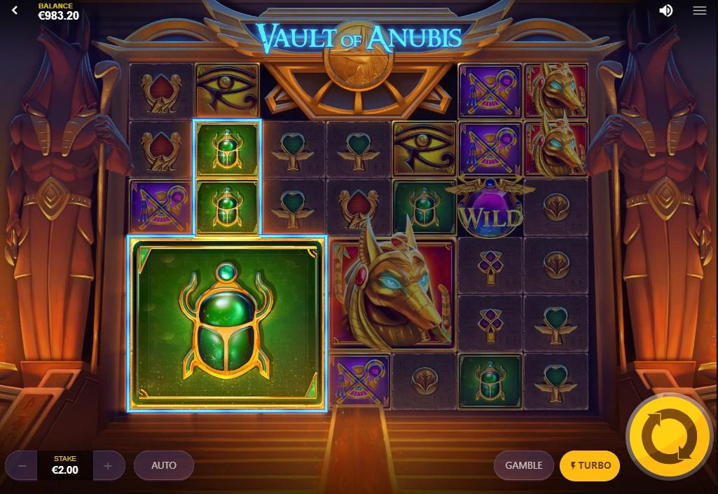 Слот Vault of Anubis играть бесплатно
