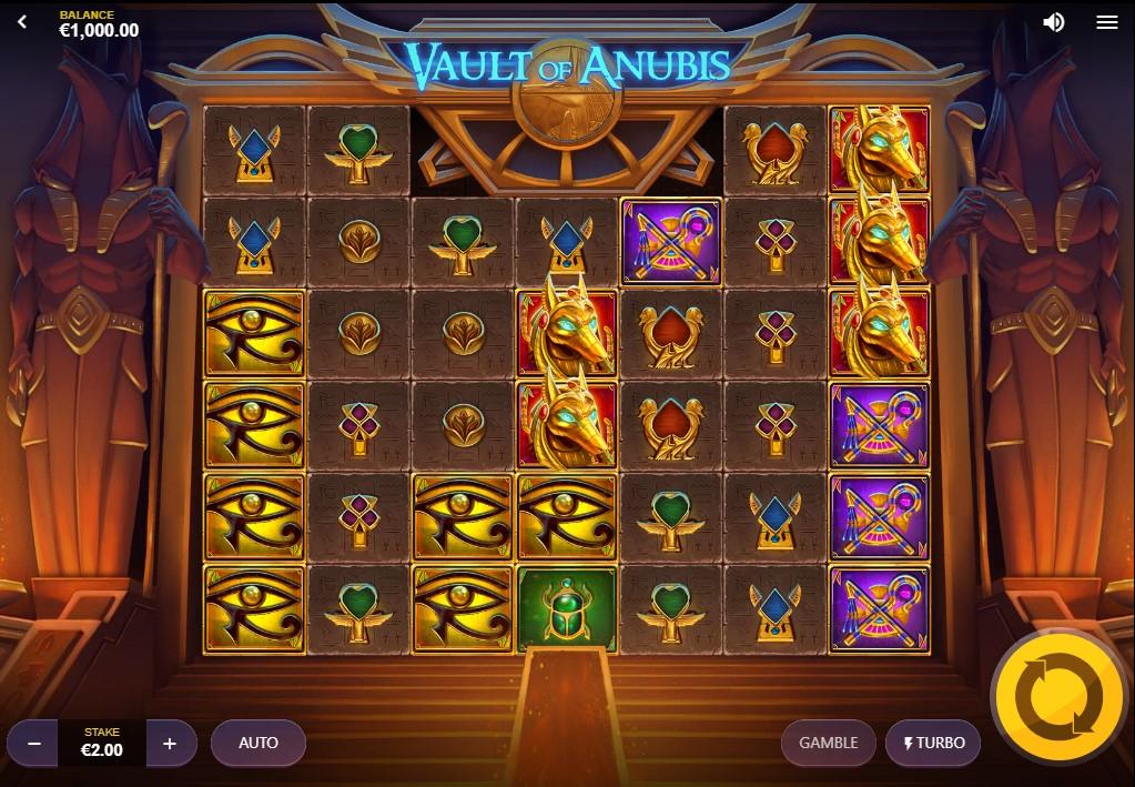 Vault of Anubis игровой автомат
