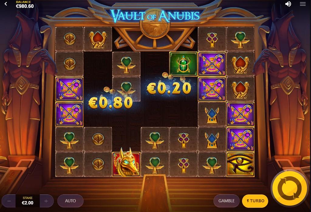 Бесплатный слот Vault of Anubis