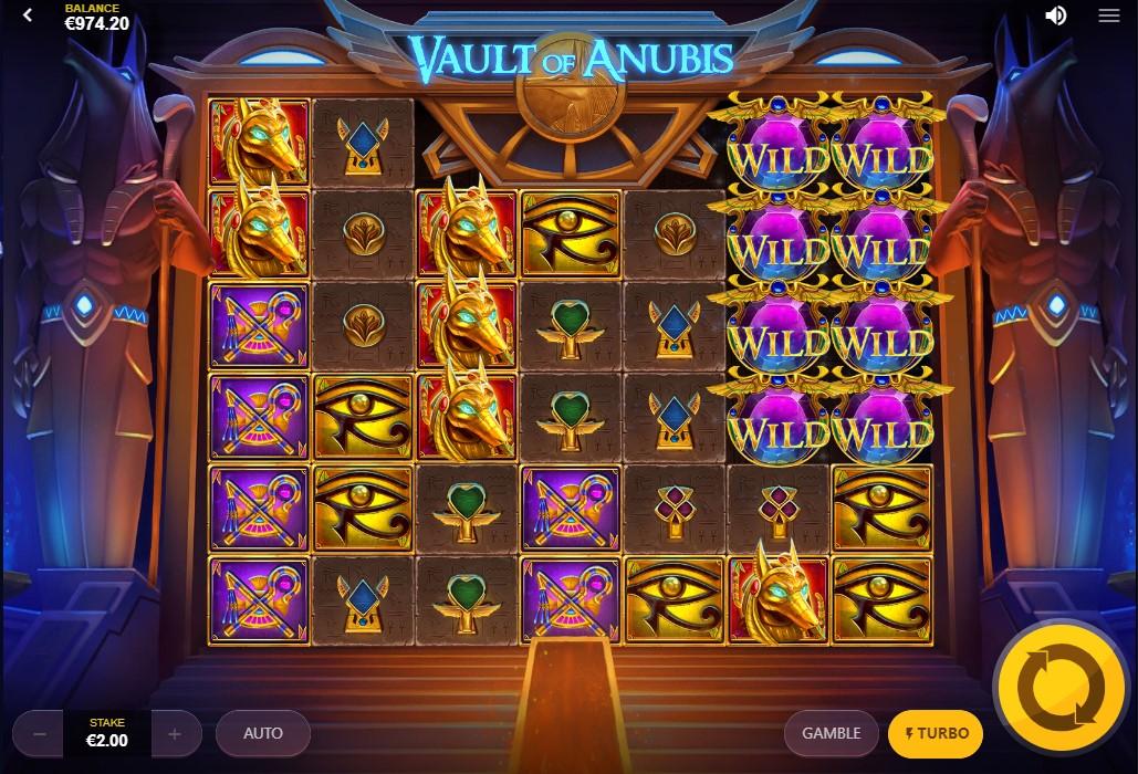 Vault of Anubis слот играть онлайн