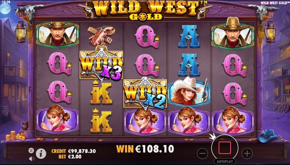 Игровой автомат Wild West Gold
