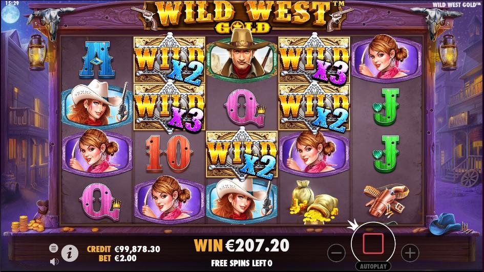 Wild West Gold игровой автомат