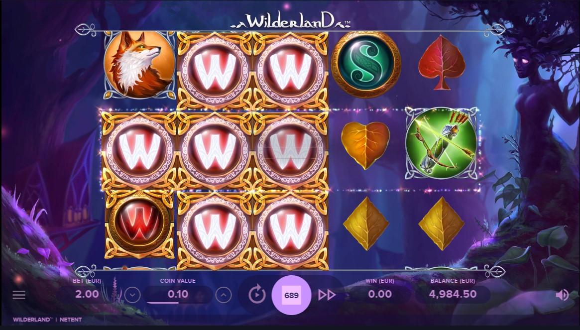 Онлайн слот Wilderland