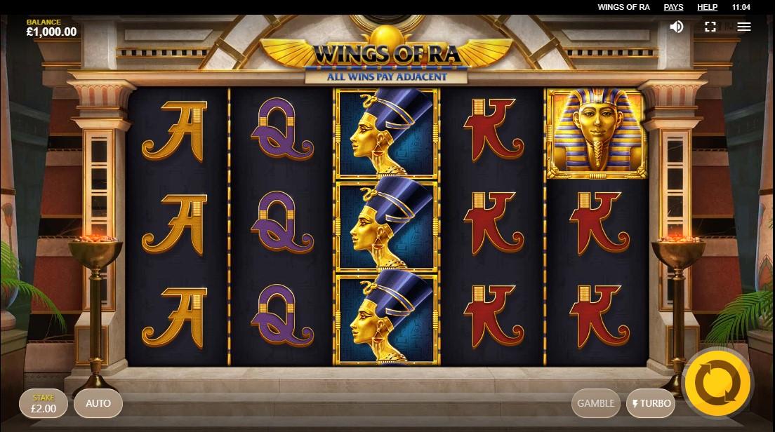 Wings of Ra игровой автомат