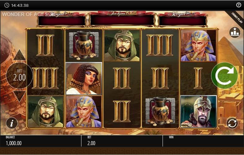 Wonder of Ages игровой автомат
