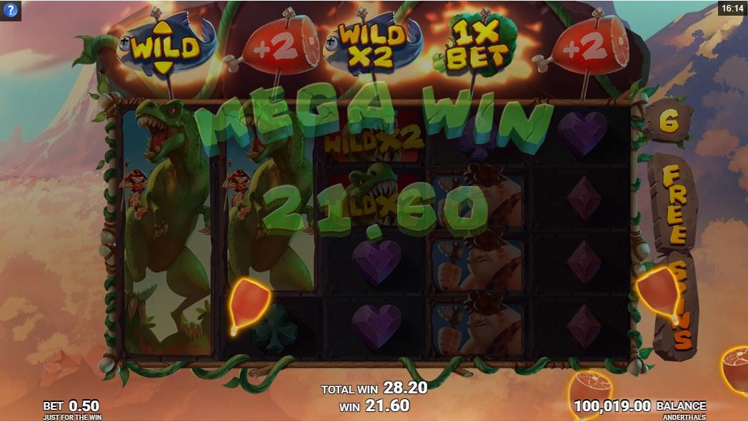Слот Anderthals играть онлайн