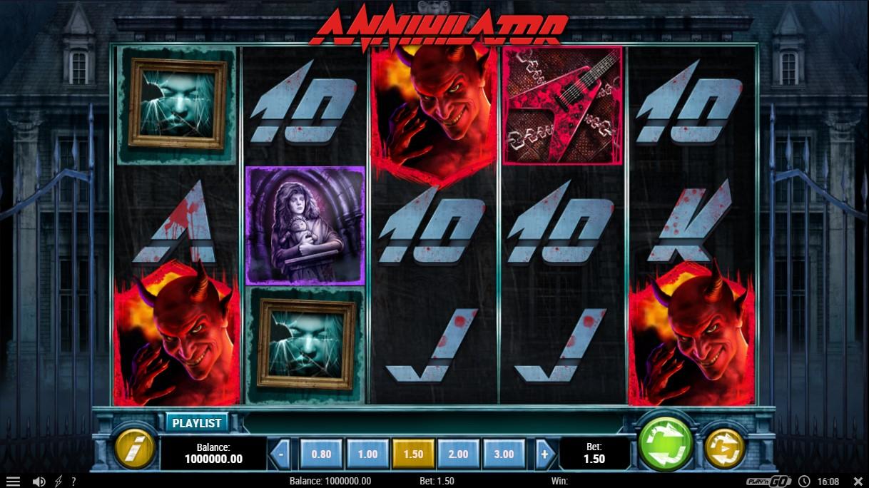 Слот Annihilator играть бесплатно