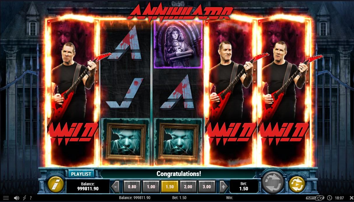 Игровой автомат Annihilator