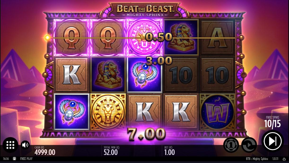 Игровой автомат Beat the Beast Mighty Sphinx