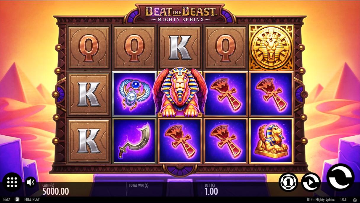 Beat the Beast Mighty Sphinx игровой автомат