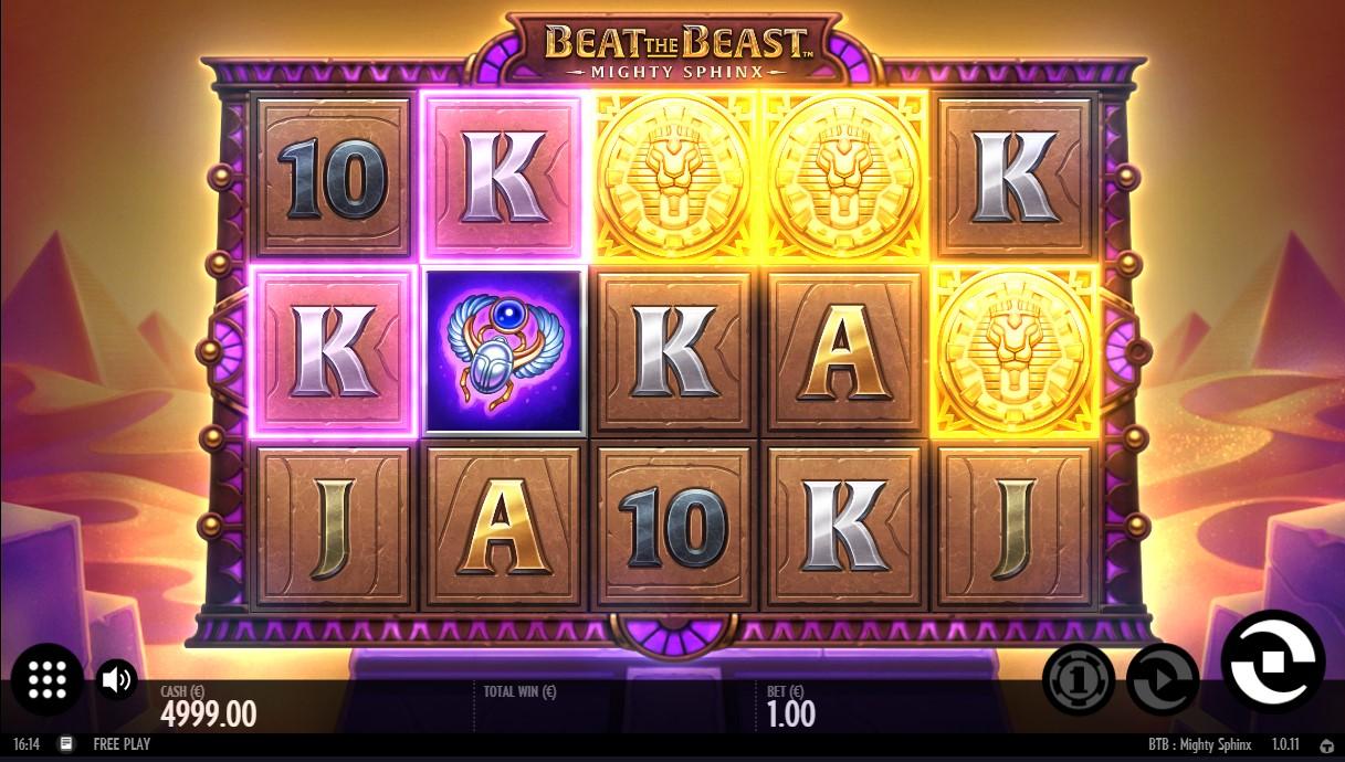 Бесплатный игровой автомат Beat the Beast Mighty Sphinx